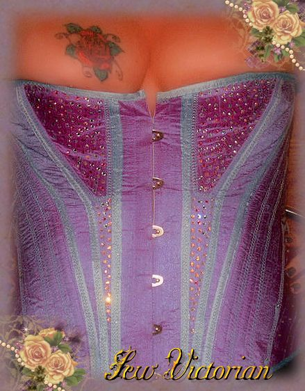 Fashion Silk Corset 2