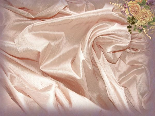 Alpine Rose Dupioni Silk