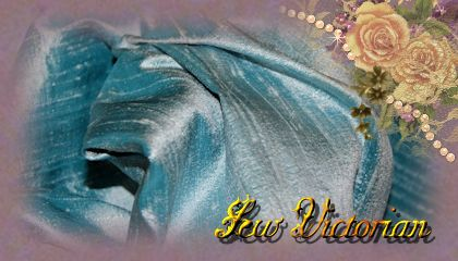 Antique Blue Dupioni Silk