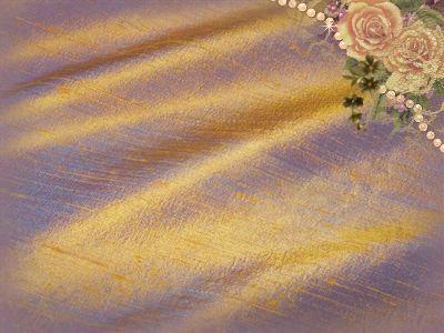 Antique Copper Dupioni Silk