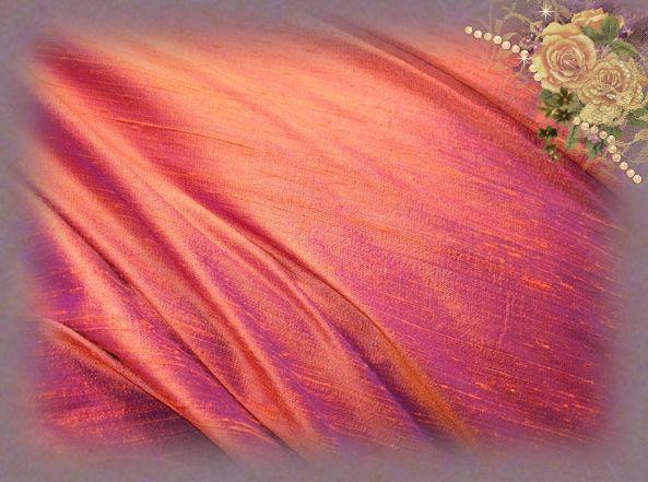 Arizona Sunset Dupioni Silk