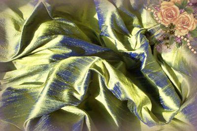 Da Vinci Gold Dupioni Silk