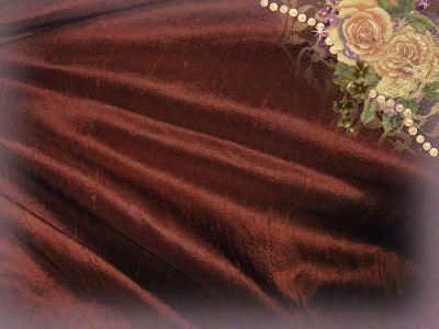 Gingerbread Dupioni Silk