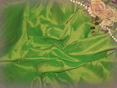 Lemongrass Dupioni Silk