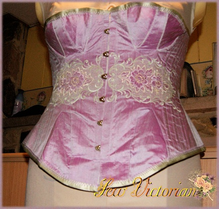 Fashion Silk Corset