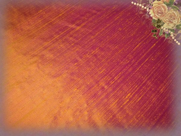 Mandarin Orange Dupioni Silk