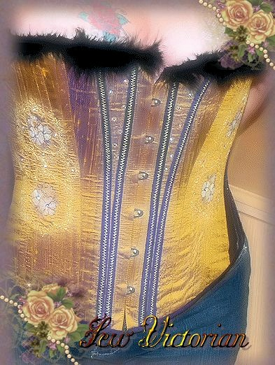 Fashion Silk Corset 3