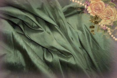 Sage Dupioni Silk
