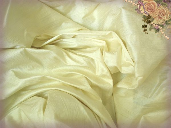 Swiss Almond Silk Dupioni