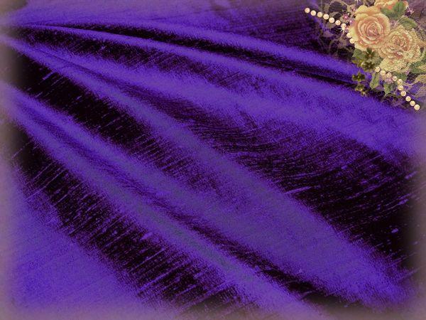 Ultra Violet Dupioni