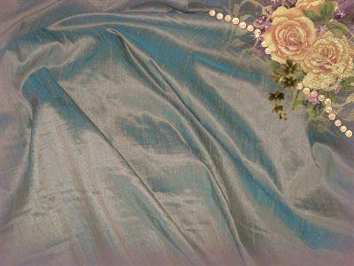 Vintage Bronze Dupioni Silk